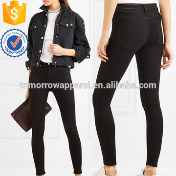 High-rise skinny jeans Manufacture Wholesale Fashion Women Apparel (TA3063P)