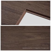 Plancher stratifié écologique imperméable de style d'acacia de surface de 12mm