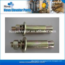 Tornillos de anclaje de cuña / pieza de elevación / tornillos pasantes