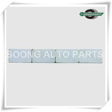 Pesas adhesivas de la rueda del acero 0.25OZx4 (FE), 4pcs FE Pesos adhesivos de la balanza
