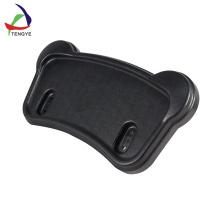 Bandeja plástica de la silla de ruedas que cena la bandeja del plástico del ABS de encargo de las ventas calientes