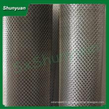 Popular diamante alumínio alumínio expandido malha de metal para consruction ou decoração