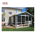 China Factory Prefabricated Glass House / Sunroom Ceiling Panels for Sale