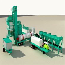 Cold Mix Mobile Asphalt Batching Plant