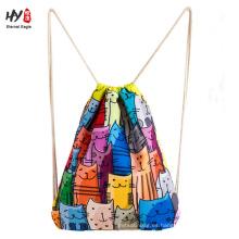 El bolso más nuevo de la mochila de la lona de aspecto agradable