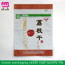 Bolsa de empaquetado plástica que se puede volver a sellar de alta calidad de la impresión agradable para las frutas secas