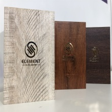 Wooden Embossed Paper for Gift Box Package