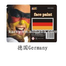 флаг лицо краской(Германия),Германия лицо краской