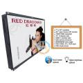1920 x 1080 resolución 46 pulgadas grande marco abierto TFT LCD monitor para publicidad
