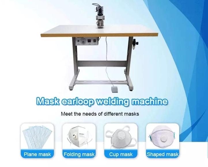 semi auto mask earloop single welding machine (5)