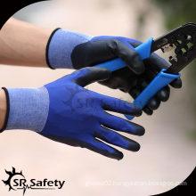 SRSAFETY 13 Ga Grey Nylon Coated PU Glove/Working Glove/pu dipped working gloves