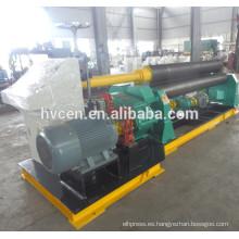 Máquina de laminación de placa mecánica 8 * 2500, máquina de laminación de tres rodillos placa