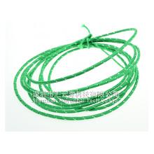 Хлопок Плетеный рукав для автомобильного кабеля