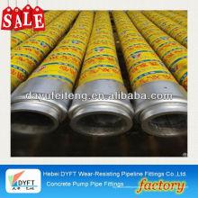 Tuyau d'huile en caoutchouc de 3 pouces de haute qualité utilisé tuyau de caoutchouc de pompe à béton