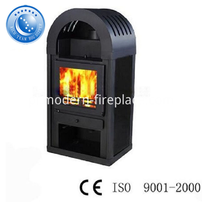 Modern Prefab Real Fire Fireplace With Corner Ideas
