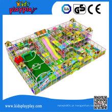 Kidsplayplay China Fabricação de Crianças Indoor Playground Grandes Slides para Venda