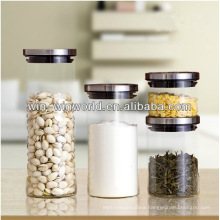 Custom Printed Pyrex Glass Vacuum Food Storage Container With Lid