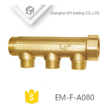 """EM-F-A080 3/4 """"-Verschraubung 3-Wege-Kupferwasserverteiler"""