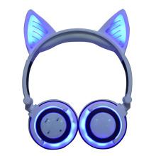 New type wireless headset bluetooth cat ear headphone