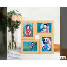 Nuevo estilo de collage foto marcos de fotos 6x8 8x10 pulgadas