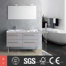Vanity de banheiro moderno com vaidade de MDF moderno Vanity