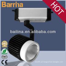 Zhongshan fábrica preço 3phases cob luminária iluminação da trilha levada