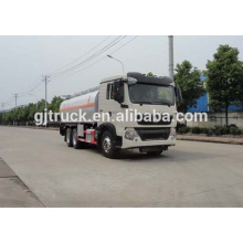 Sinotruk HOWO 6X4 drive fuel truck for 15-25 cubic meter