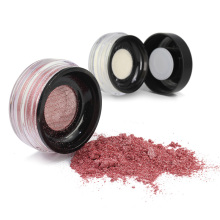Custom makeup private label liquid highlighter glitter sexy loose powder face body shimmer single highlighter