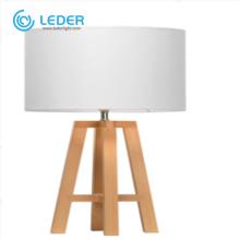 LEDER Белая светодиодная настольная лампа