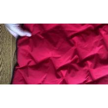 Muestra gratis de pintura impermeable acolchada de poliéster abajo chaqueta de tela