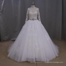AK046 robes de mariage luxueuses, robe de mariage russe