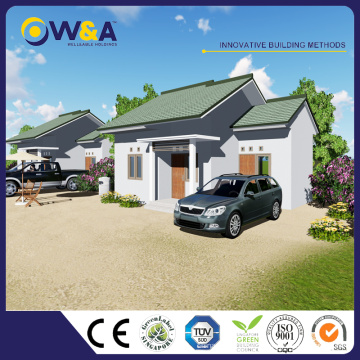 (WAS1002-45D) China Steel Small Prefab Houses Fabricante