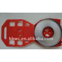 высокая точность холоднокатаный рулон армирующей стальной полосы перфорированной стальной лентой