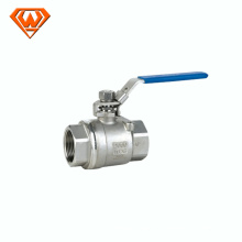 Válvula de esfera chinesa do aço inoxidável da classe 316 de 2PCS