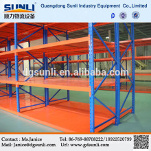 Assemblage facile réglable entrepôt rayonnage métallique