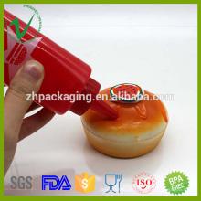 Kleine Sauce Verpackung leere Plastik Squeeze Flasche