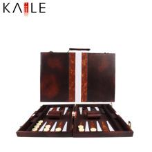 Vente en gros d'échecs de backgammon de haute qualité