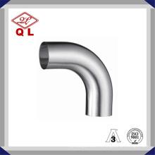 304 / 316L Curva sanitaria de acero inoxidable Codo soldado de 90 grados