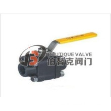3PCS 2PCS Forged Steel Ball Valve with CE