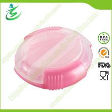 Werbe-Kunststoff-Runde geformt Mini-Pille-Box