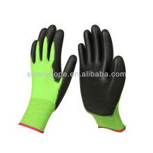 Рабочие перчатки с покрытием PU
