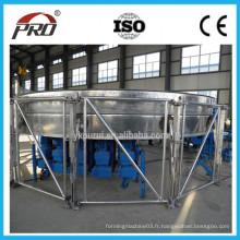 Machine de treillis en acier à grenaillage / Machine de formage de silo en spirale d'acier