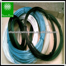 Various specifications PVC coated wire/pvc coated tie wire manufacture in China