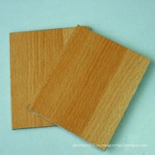 Деревянная, как алюминиевая композитная панель