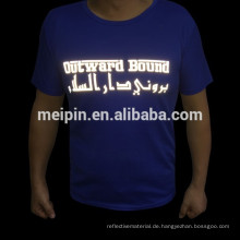 Reflektierender Wärmeübertragungs-Aufkleber für T-Shirt