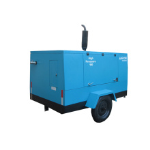 Portable High Pressure Mobile Air Compressor with Wheels Compressor (PUE110-13)