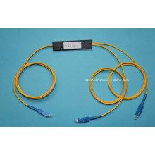1 * 2 Fiber Optica Koppler mit Sc Stecker
