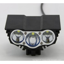 3X Xm-L T6 LED 3t6 4 Modes Headlamp