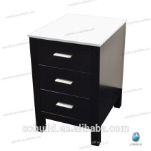Hotel Simple nightstand, solid wood side cabinet with drawers