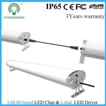 Lumière LED industrielle de 1,2 m avec 5 ans de garantie